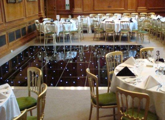 LED Illuminated Dance Floor