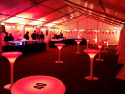 LED POesure Table Hire